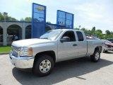 2013 Silver Ice Metallic Chevrolet Silverado 1500 LT Extended Cab 4x4 #81870321