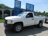 2013 Summit White Chevrolet Silverado 1500 Work Truck Regular Cab 4x4 #81870319