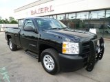 2012 Black Chevrolet Silverado 1500 Work Truck Regular Cab 4x4 #81870970