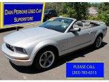 2006 Satin Silver Metallic Ford Mustang V6 Premium Convertible #81870054
