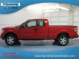 2010 Vermillion Red Ford F150 STX SuperCab 4x4 #81870308
