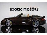 2008 Macadamia Metallic Porsche 911 Turbo Cabriolet #81870953