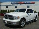 2010 Stone White Dodge Ram 1500 Big Horn Crew Cab 4x4 #81870947