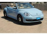 2013 Denim Blue Volkswagen Beetle 2.5L Convertible #81870927