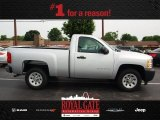 2012 Silver Ice Metallic Chevrolet Silverado 1500 Work Truck Regular Cab #81932514