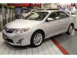 2013 Classic Silver Metallic Toyota Camry XLE #81933137