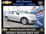 2013 Silver Ice Metallic Chevrolet Malibu LS #81933128