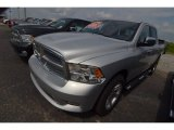2012 Bright Silver Metallic Dodge Ram 1500 Laramie Limited Crew Cab 4x4 #81932694