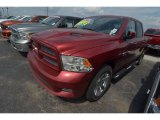 2012 Deep Cherry Red Crystal Pearl Dodge Ram 1500 Sport Crew Cab #81932692
