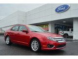 2011 Red Candy Metallic Ford Fusion SEL #81932678