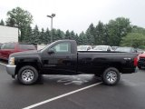 2013 Black Chevrolet Silverado 1500 LS Regular Cab 4x4 #81933201