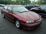 2001 Dark Carmine Red Metallic Chevrolet Impala LS #81933196