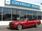 2006 Redfire Metallic Ford Mustang V6 Premium Convertible #81932651
