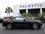 2011 Ebony Black Ford Mustang V6 Premium Convertible #81932887