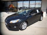 2012 Black Ford Focus SEL 5-Door #81932626
