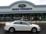 2010 White Platinum Tri-coat Metallic Ford Fusion SEL #81932759