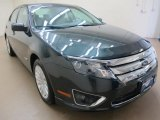 2010 Atlantis Green Metallic Ford Fusion Hybrid #81932447