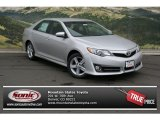 2013 Classic Silver Metallic Toyota Camry SE #81932436