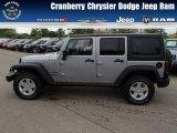 2013 Billet Silver Metallic Jeep Wrangler Unlimited Sport 4x4 #81987704