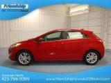 2013 Volcanic Red Hyundai Elantra GT #81987611