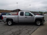 2013 Silver Ice Metallic Chevrolet Silverado 1500 LT Extended Cab 4x4 #81987694