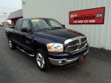 2006 Patriot Blue Pearl Dodge Ram 1500 SLT Quad Cab #81988206