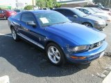 2007 Vista Blue Metallic Ford Mustang V6 Premium Coupe #81987582