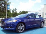 2013 Deep Impact Blue Metallic Ford Fusion Titanium #81987668