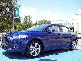 2013 Deep Impact Blue Metallic Ford Fusion SE 1.6 EcoBoost #81987666
