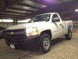 2013 Summit White Chevrolet Silverado 1500 Work Truck Regular Cab 4x4 #81987754