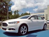 2013 White Platinum Metallic Tri-coat Ford Fusion SE 1.6 EcoBoost #81987662