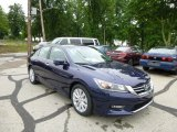 2013 Obsidian Blue Pearl Honda Accord EX-L Sedan #81988094