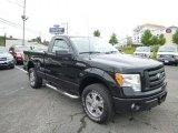 2010 Tuxedo Black Ford F150 STX Regular Cab 4x4 #81987739