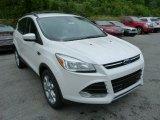 2013 White Platinum Metallic Tri-Coat Ford Escape SEL 2.0L EcoBoost 4WD #81987732