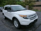 2013 White Platinum Tri-Coat Ford Explorer XLT 4WD #81987729