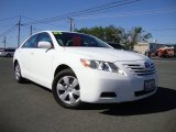 2008 Super White Toyota Camry LE V6 #81987957
