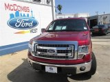2013 Ruby Red Metallic Ford F150 XLT SuperCrew 4x4 #81987554
