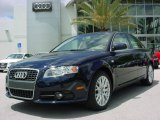 2008 Deep Sea Blue Pearl Effect Audi A4 2.0T Special Edition Sedan #8183704