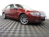 2007 Vivid Red Metallic Lincoln MKZ AWD Sedan #81987952