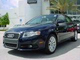 2008 Deep Sea Blue Pearl Effect Audi A4 2.0T Special Edition Sedan #8183705
