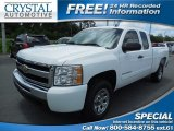 2011 Summit White Chevrolet Silverado 1500 LS Extended Cab #81988058