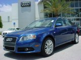 2008 Ocean Blue Pearl Effect Audi A4 2.0T Special Edition Sedan #8183697