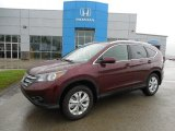 2013 Basque Red Pearl II Honda CR-V EX-L AWD #81988052