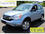 2010 Glacier Blue Metallic Honda CR-V LX AWD #81987626