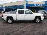 2009 Summit White Chevrolet Silverado 1500 LT Crew Cab 4x4 #81987534