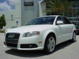 2008 Ibis White Audi A4 2.0T Special Edition Sedan #8183694
