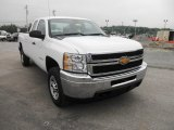 2012 Chevrolet Silverado 3500HD WT Extended Cab 4x4 Data, Info and Specs