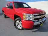 2010 Victory Red Chevrolet Silverado 1500 LT Extended Cab #81987845