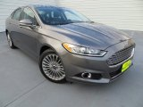 2013 Sterling Gray Metallic Ford Fusion Titanium #81987843