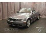 2005 Silver Grey Metallic BMW 3 Series 330i Convertible #8184029